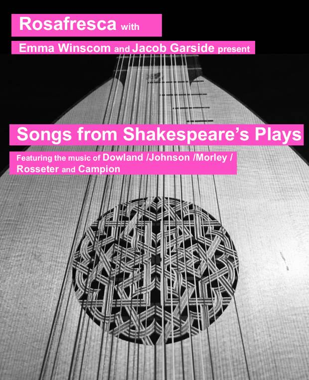 poster of 'Songs from Shakespeare's Plays'